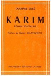 SOCE DIOP Ousmane - Karim. Roman sénégalais