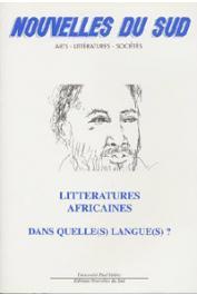 Nouvelles du Sud 26 - Littératures africaines, dans quelle(s) langue(s) ?