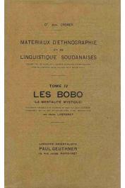 CREMER Jean, (docteur) - Les Bobo (La mentalité mystique)