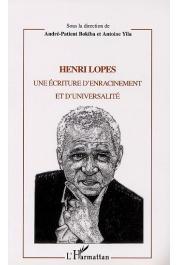 BOKIBA André-Patient, YILA Antoine (sous la direction de) - Henri Lopes. Une écriture d'enracinement et d'universalité