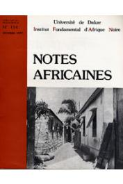 Notes Africaines - 156