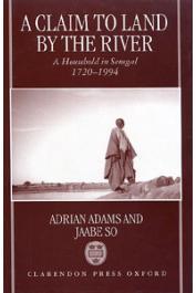 Version remaniée et rendue plus lisible du texte paru en français chez l'Harmattan 11 ans au paravant sous le titre:  La terre et les gens du fleuve: jalons, balises.