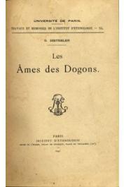 DIETERLEN Germaine - Les âmes des Dogons