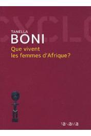 Tanella Boni mêle ici personnages de fiction et scènes vécues, analyses sociales et réalités quotidiennes. Objectif : aider à faire le tour d'un monde déconcertant et proche, où se joue un combat essentiel.