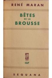 MARAN René - Bêtes de la brousse (page de titre)