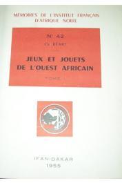 BEART Charles - Jeux et jouets de l'Ouest Africain