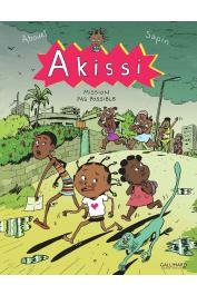 ABOUET Marguerite, SAPIN Mathieu - Akissi. Tome 8 : Mission impossible