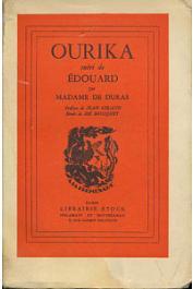 DURAS Madame de - Ourika suivi de Edouard