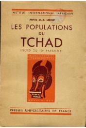 LEBEUF Annie M.-D. - Les populations du Tchad (Nord du 10ème parallèle)