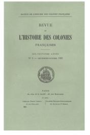 Collectif - Premier congrès international d'histoire coloniale (21-25 septembre 1931)