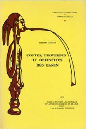 DUGAST Idelette - Contes, proverbes et devinettes des Banen (Sud-Ouest du Cameroun)