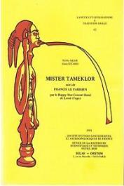 AKAM Noble, RICARD Alain - Mister Tameklor: deux comédies musicales ewe, par le Happy Star Concert Band de Lomé