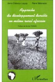 CHENEAU-LOQUAY Annie, MATARASSO Pierre - Approche du développement durable en milieu rural africain. Les régions côtières de Guinée, Guinée-Bissau et Casamance