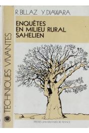 BILLAZ René, DIAWARA Y. - Enquêtes en milieu rural sahélien