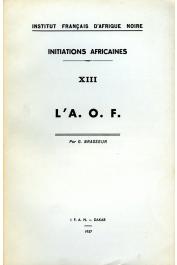 BRASSEUR Gérard - L'A.O.F.