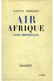 BERGERY Gaston - Air Afrique voie impériale