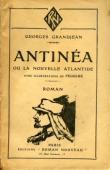 GRANDJEAN Georges - Antinéa ou la nouvelle atlantide