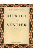 DE VALKENEER-BRIARD Suzanne - Au bout du sentier. Nouvelles congolaises