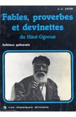 ADAM Jean-Jérôme c.s.sp. - Fables, proverbes et devinettes du Haut-Ogooué. Folklore gabonais