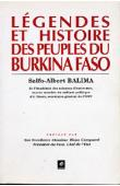 BALIMA Salfo-Albert - Légendes et histoire des peuples du Burkina Faso