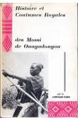 TIENDREBEOGO Yamba, PAGEARD Robert - Histoire et coutumes royales des Mossi de Ouagadougou