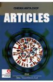 Nouvelles du Sud 35/36 - DIOP Cheikh Anta / Articles parus dans le Bulletin de l'IFAN, Institut Fondamental de l'Afrique Noire, (1962-1977)
