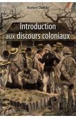 DODILLE Norbert - Introduction aux discours coloniaux