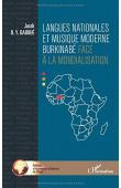 DABOUE Jacob B. Y. - Langues nationales et musique moderne burkinabé face à la mondialisation