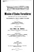 BERTIN André, (Commandant) - Mission d'études forestières. Tome II: Les bois du Gabon