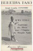 CONOMBO Joseph Issoufou - M'ba Tinga. Tradition des Mosse dans l'Empire du Moogo Naba