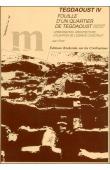 POLET Jean - Tegdaoust IV: fouille d'un quartier de Tegdaoust (Mauritanie orientale): urbanisation, architecture, utilisation de l'espace construit