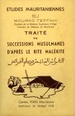 TEFFAHI Mourad - Traité de successions musulmanes d'après le rite malékite